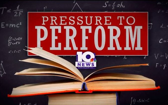 Middle, high school students trying to cope with pressure to perform