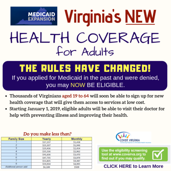NEW Medicaid Expand