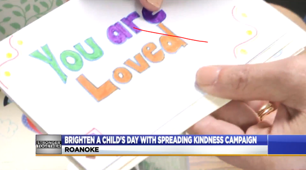 'Spreading Kindness Card Campaign' seeking 1,000 cards for Roanoke kids