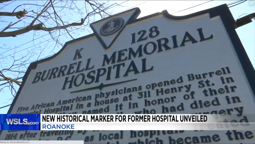 Unveiling of Historic Marker at BRBH Burrell Center